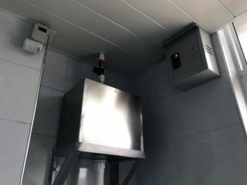 北方地区冬季感应节水器成熟防冻方案