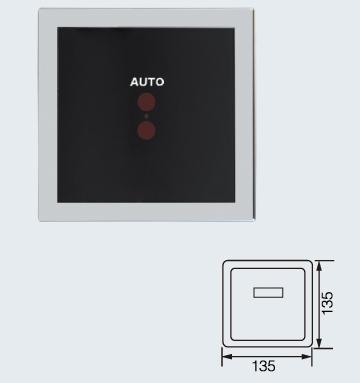 BY-6335 暗装小便斗感应器冲水器